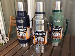 stanley thermos logo. stanley classic the legend extra large vacuum bottle 2-qtstanley thermos logo