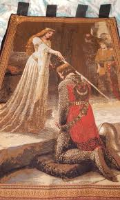 the accolade meval fine art tapestry wall hanging 39 x 27 uk