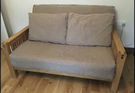 It is not just a business for us; Solid Oak Oke 2 Seater Sofa Bed By Futon Company Great Condition 355 00 Picclick Uk