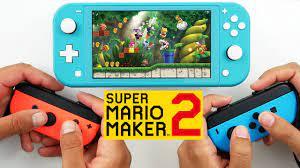 2 player coop super mario maker 2