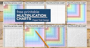 free multiplication chart printable