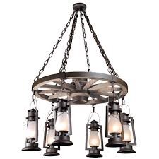 sutter s mill pioneer wagon wheel chandeliers