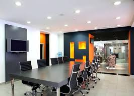wall colors for office. Marvelous Black White Orange Wall Color For Modern Office Meeting Interior What Are The Best Colors
