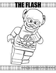 Kleurplaten Lego Flash Brekelmansadviesgroep