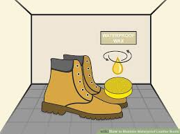 image titled maintain waterproof leather boots step 07
