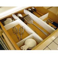 Kitchen Drawer Organizer Plastic Kitchen Drawer Dividers Set Of 5 Axis 6805 Cabinet