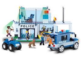 <b>Конструктор Полицейский</b> участок <b>Cobi</b> Action Town. <b>Police HQ</b> ...