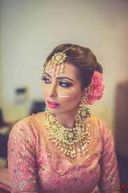indian bridal makeup hairstyle looks
