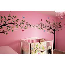 big tree with love birds tree removable