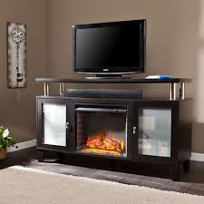 Southern Enterprises Corine Electric Fireplace Media Console For Walmart Electric Fireplaces