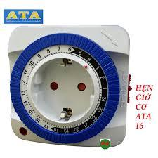 Timer ổ cắm hẹn giờ cơ 24h tắt mở điện ata at-16 rất hữu ích và thông minh  - Sắp xếp theo liên quan sản phẩm