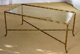 gold glass coffee table design