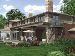 mascord house plans. Contemporary House Mascord House Plans Fresh Plan Rear View In