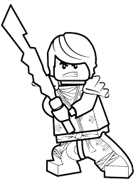 Ninjago Lego Coloring Pages Ninja Coloring Pages Top With Regard To
