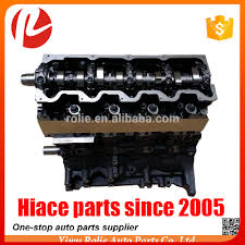 Toyota hiace diesel the engine spare parts 3L engine long block used ...