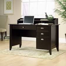 sauder shoal creek jamocha wood computer desk