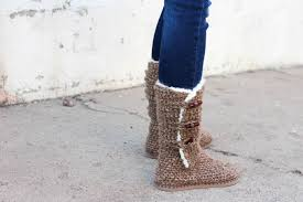 Free Crochet Boot Pattern Uggs