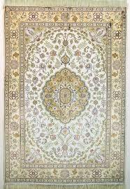 details about oriental turkistan handmade silk oriental rug beige gold