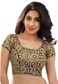 Designer Blouse Online Shopping With Price Black Banglori Silk Readymade Blouse 160780 Readymade