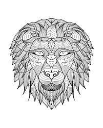 Small Picture Best 25 Lion coloriage ideas on Pinterest Lion tatouages de