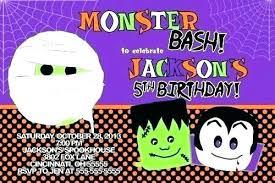 Free Halloween Birthday Invitation Templates Birthday Invitations Templates Free Halloween Invitation
