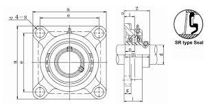4 bolt flange bearing. 4 bolt flange bearing
