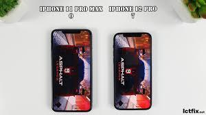 iPhone 12 Pro vs iPhone 11 Pro Max | Video test Display, SpeedTest  Comparison - ICTfix
