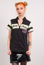 harley davidson vintage 90 s racing shirt y2k