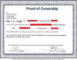 Sample Certificate Of Ownership Letter Stepstogetyourexback Com