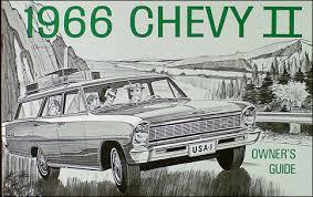 1966 chevy ii nova wiring diagram manual reprint 1966 chevy ii nova ss reprint owner s manual 66