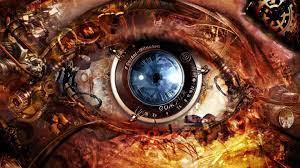Abstract Eye Lens Futuristic Sci Fi ...