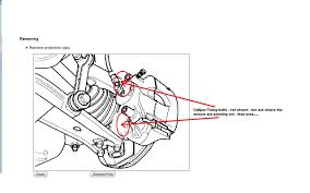 How do i separate the front brake caliper to renew the pads on a rh justanswer 98 mustang rear brakes diagram disc brake caliper diagram