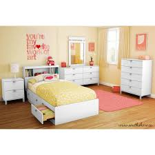 South Shore Bedroom Furniture South Shore Spark Twin 39 Mates Bed With 3 Drawers Multiple