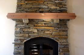 image of stone fireplace mantels ideas