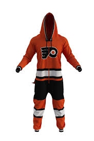 flyers philly nhl flyers adult jumpsuit for women the philadelphia flyers