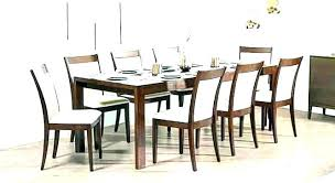 8 chair square dining room set used seat round table chairs furniture beautiful d likable