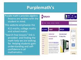 e learning strategies mathematics teaching amp learning 5 purplemath s purple math s