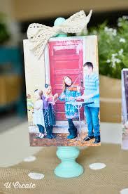 wooden block frame tutorial gift idea by u create