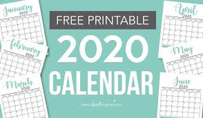 2020 monthly planner template free 2020 printable calendar template 2 colors i heart