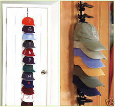 SUPER 36 Perfect Wall Door Closet Organizer Storage Shelf Baseball Hat CAP  RACK