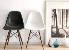 charles ray furniture. Charles Ray Eames Style Dsw Side Chairs - Walnut Legs Furniture
