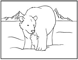 Small Picture Luxury Polar Bear Coloring Pages 94 With Additional Coloring Site