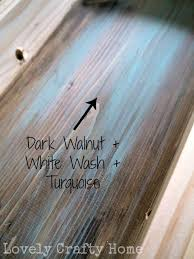 white wash furniture. love this effect diy creating an aged wood look by staining first and then white wash furniture
