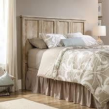 Sauder Bedroom Furniture Sauder Cannery Bridge Lintel Oak Full Queen Headboard 419932 The