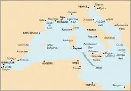 Imray Charts Mediterranean Imray Chart M10 Imray 9781846233531