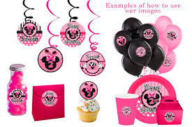 baby minnie mouse shower decorations best decoration diy banner personalized ideas at party city free table