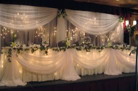 wedding table lighting. Other Head Table Skirt Packages Available...see Below Wedding Lighting G