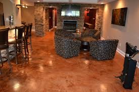 cement basement floor ideas. Surprising Stained Concrete Basement Floor Ideas Pics Cement I
