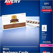 Avery 8870 Template Avery Business Cards Template Theredteadetox Co
