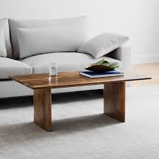 anton solid wood coffee table round